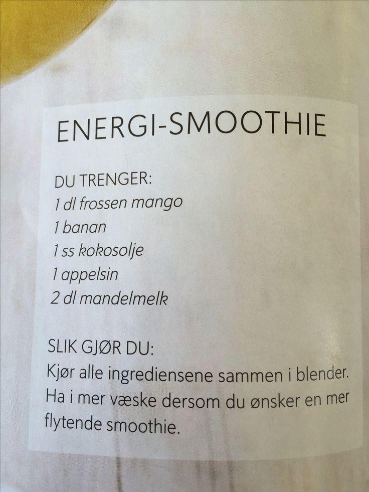 Energi smoothie