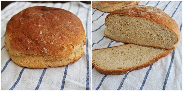 Chléb zadělávaný podmáslím