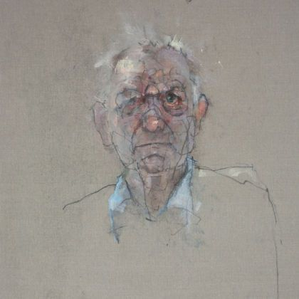 Nathan Ford Uncle Philip 2, Oil on canvas 28 x 20 cm