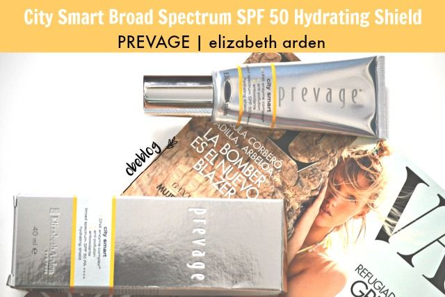 PREVAGE® City Smart Broad Spectrum SPF 50 Hydrating Shield elizabeth arden