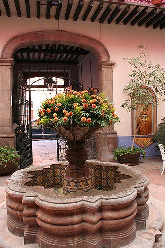 783 best estilo mexicano images on pinterest for Mexican porch designs