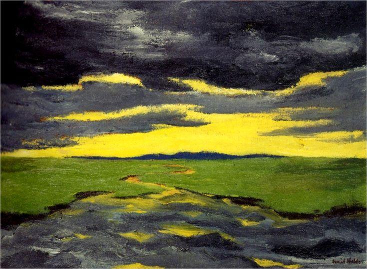Emil Nolde, Crépuscule 1916