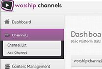 At Worship Channels, we develop online live streaming tools for churches. Our mission is to provide the best online ministry tools & customer service support on the planet. We provide higher quality video and more reliable content delivery than any other provider.