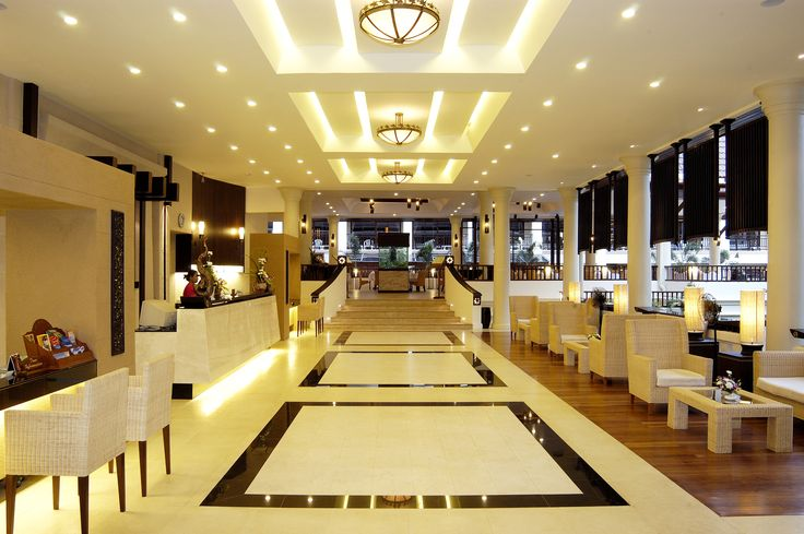 Luxurious Modern Hotel Lobby Design Ideas With Really Cool Lighting On Pleasurable Inspiration