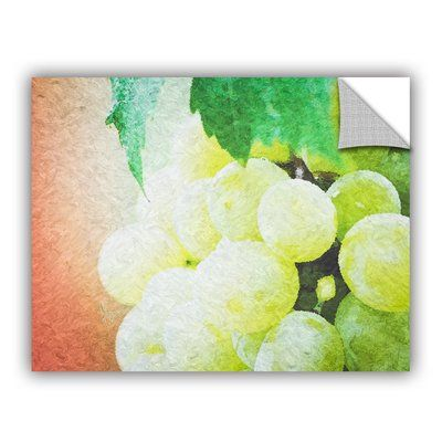 """East Urban Home Planet of The Grapes Wall Decal Size: 18"""" H x 24"""" W x 0.1"""" D"""
