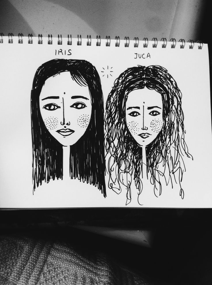 two ladies  #art #illustration #drawing #draw