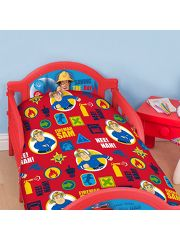 Red Fireman Sam Toddler Duvet Set