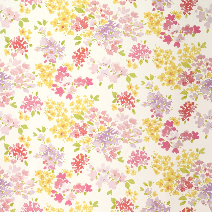 Amelie PVC Fabric Geranium at LAURA ASHLEY