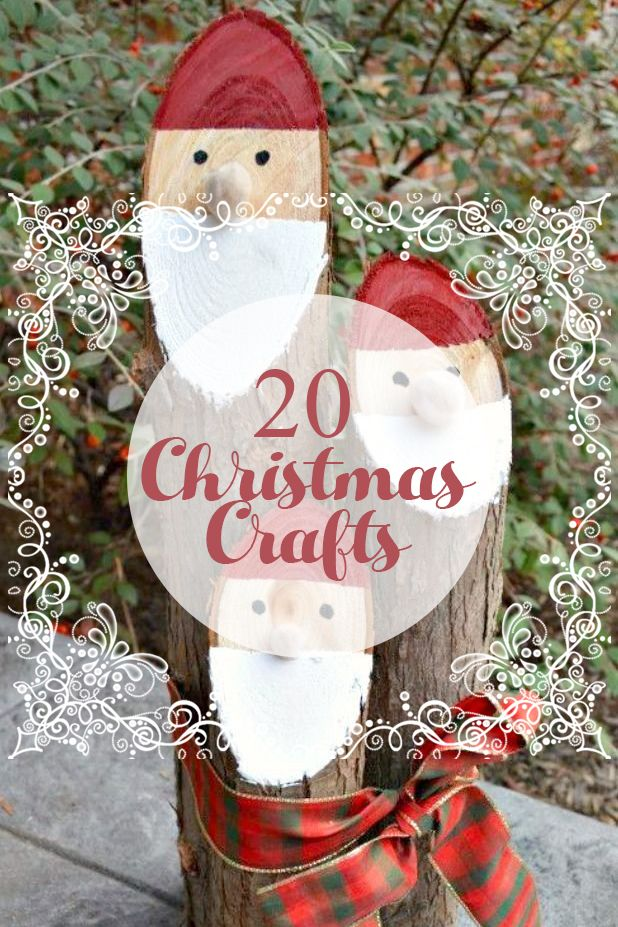20 Christmas Crafts Stay At Home