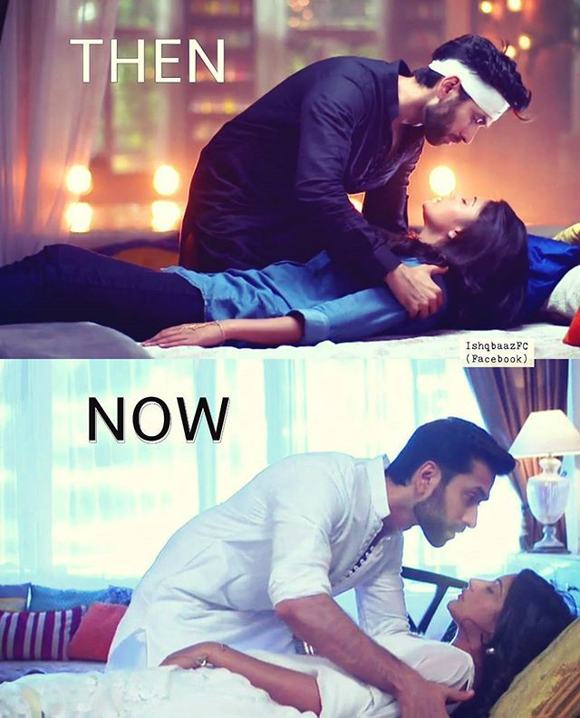 Somethings really don't change  #shivika then and now #ishqbaaazquotes #ishqbaaaz