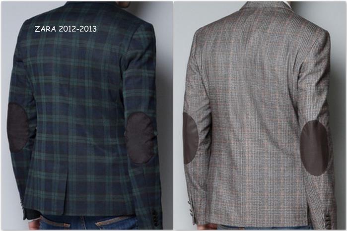 Пиджаки мужские с заплатками на локтях