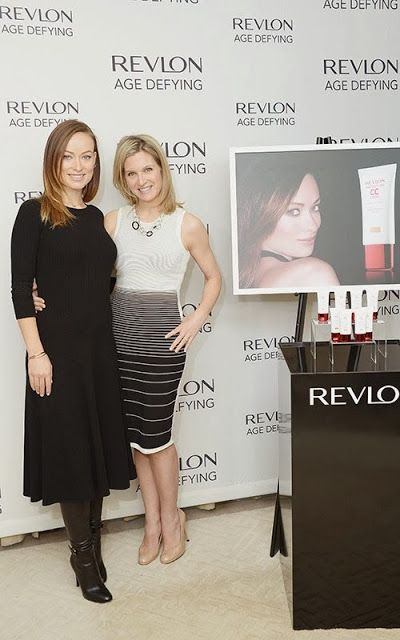 Celeb Diary: Olivia Wilde @ Revlon's NEW Age Defying Collection