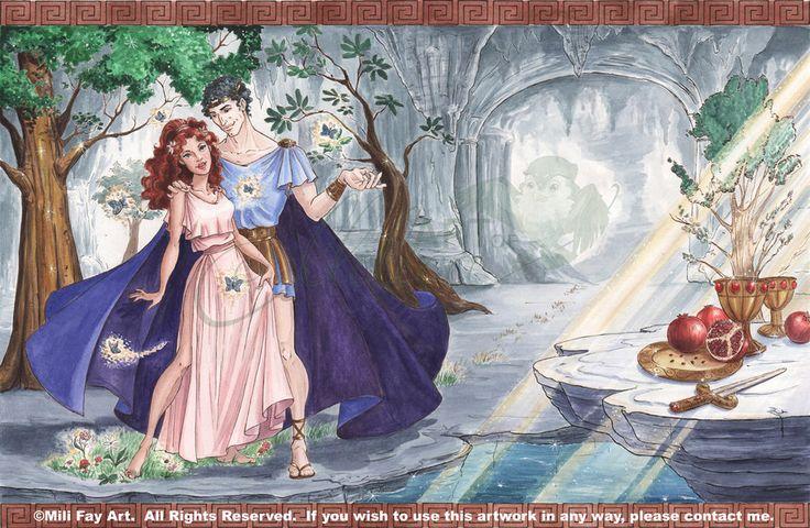 Hades And Persephone--Hades' Gift Picture -- ArtofMilica