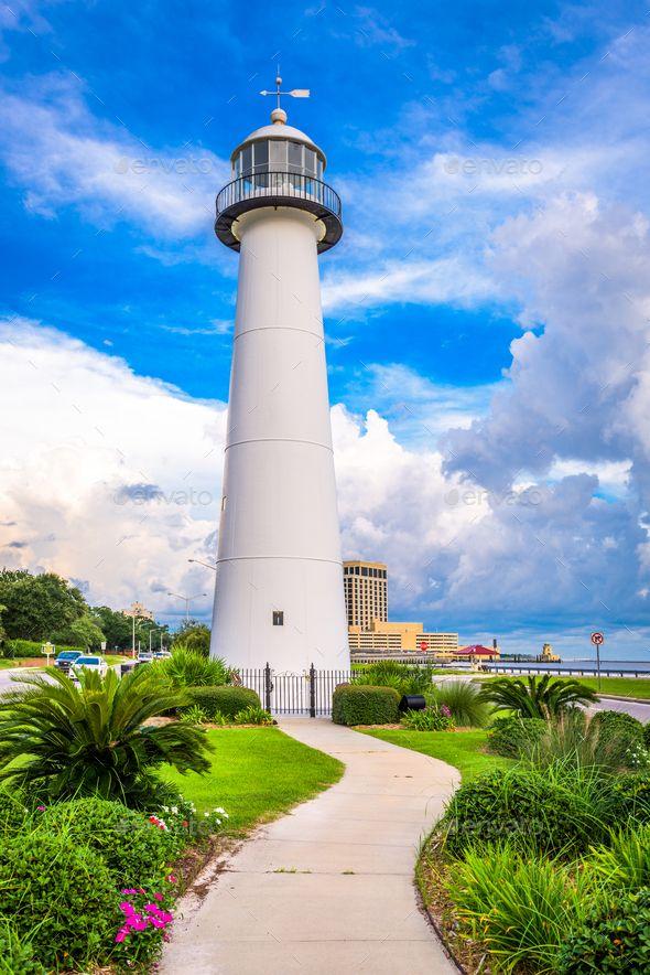 Biloxi Lighthouse By Seanpavonephoto Biloxi Mississippi Usa At