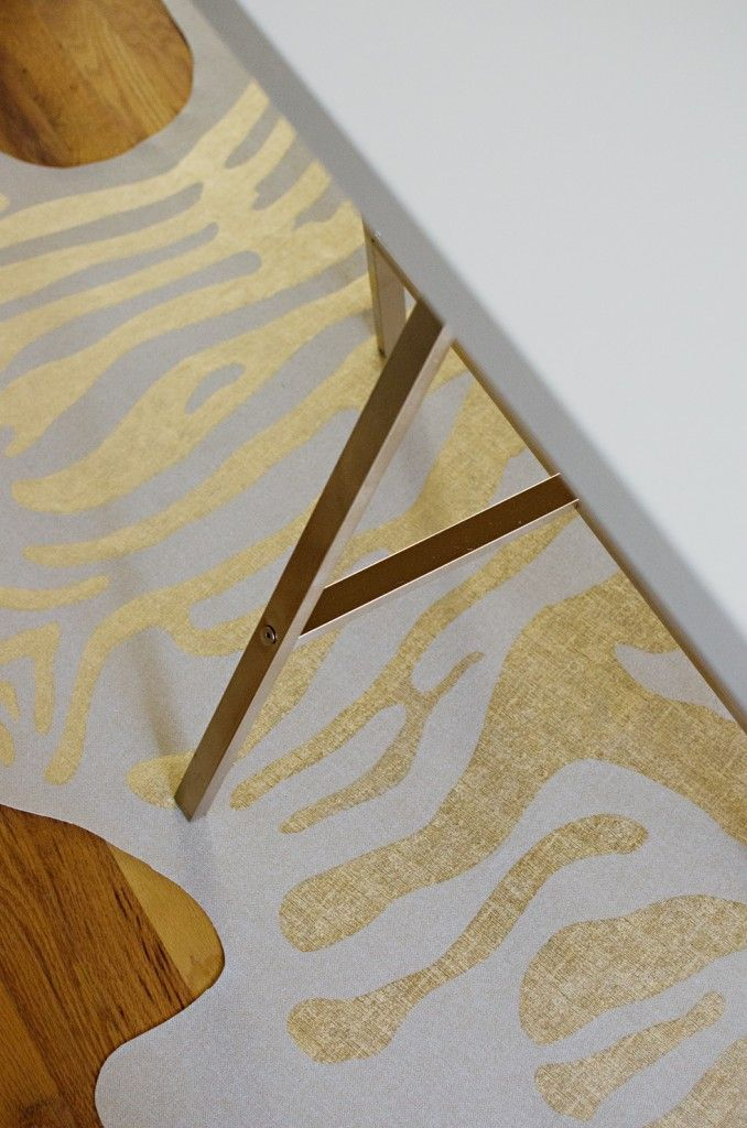 Faux Zebra Rug DIY | brittanyMakes