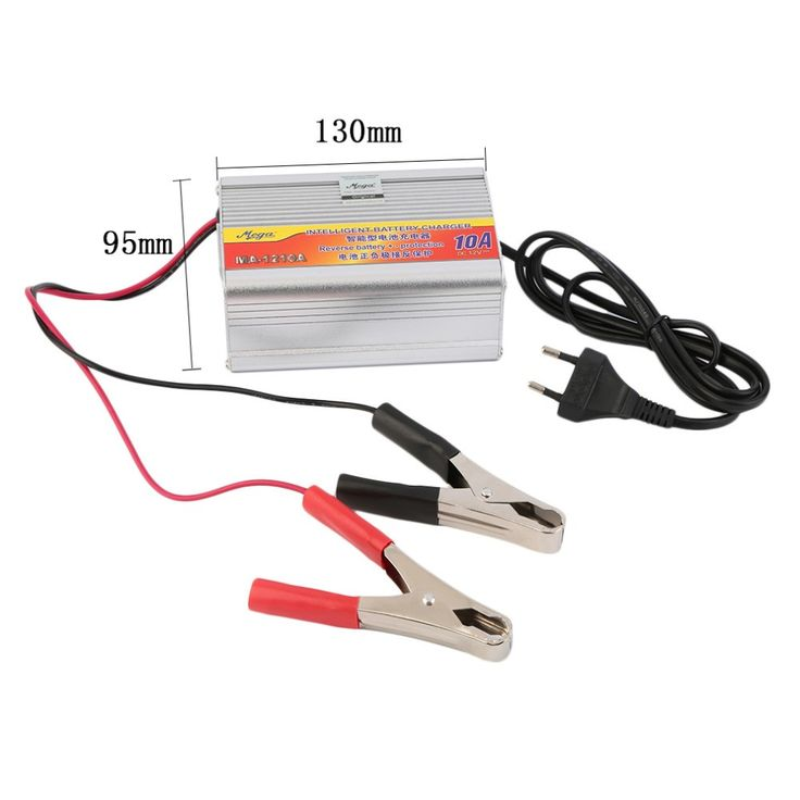 12V 10A Car Battery Charger Motorcycle Battery Charger Lead Acid Chargers EU Plug Wholesale