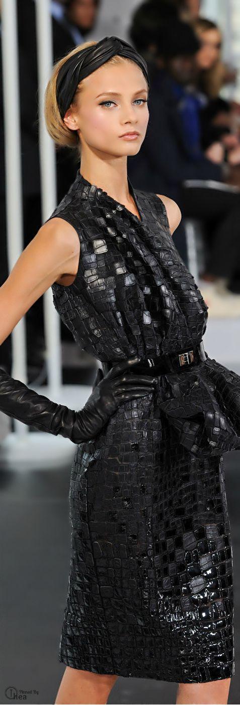 Christian Dior...The little black dress...