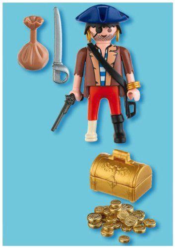 4753 -Pirate avec coffre au trésor