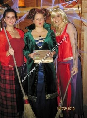 coolest homemade hocus pocus group halloween costume ideas