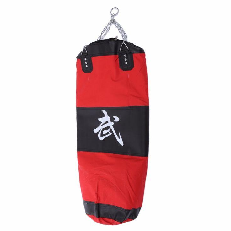 22.73$  Buy here - http://alipp9.shopchina.info/go.php?t=32621904381 - Empty Boxing Sanda Hollow Sandbag 110cm Training MMA Boxing Bag Earthbag Hook Kick Hanging Sandbag Fight Sand Punch Punching Bag  #shopstyle
