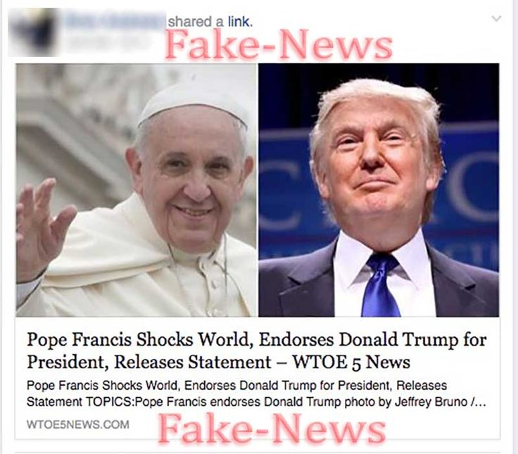 No, the Pope Has NOT Endorsed Donald Trump For President