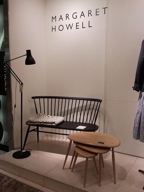 ercol at Margaret Howell, Shinjuku, Tokyo.