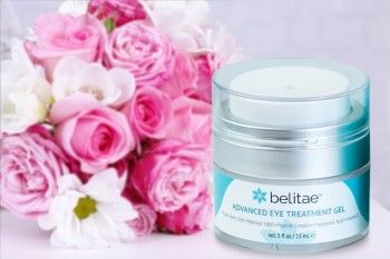Belitae Organics Advanced Eye Treatment Gel, Premium Cosmetic Gift For Mothers on Mother's Day