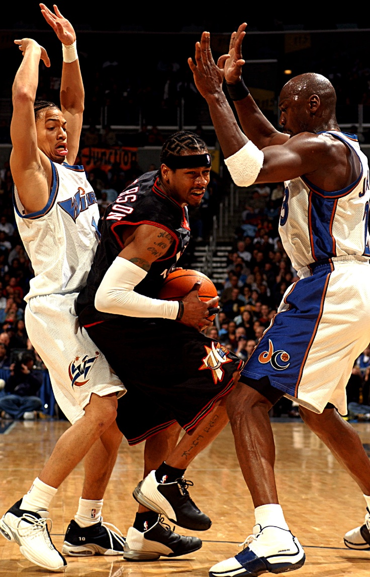 Iverson vs Lue and Jordan