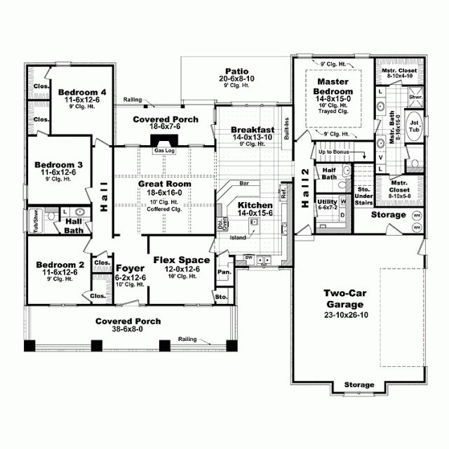73 best Home Plans images on Pinterest House blueprints, House - best of blueprint country house