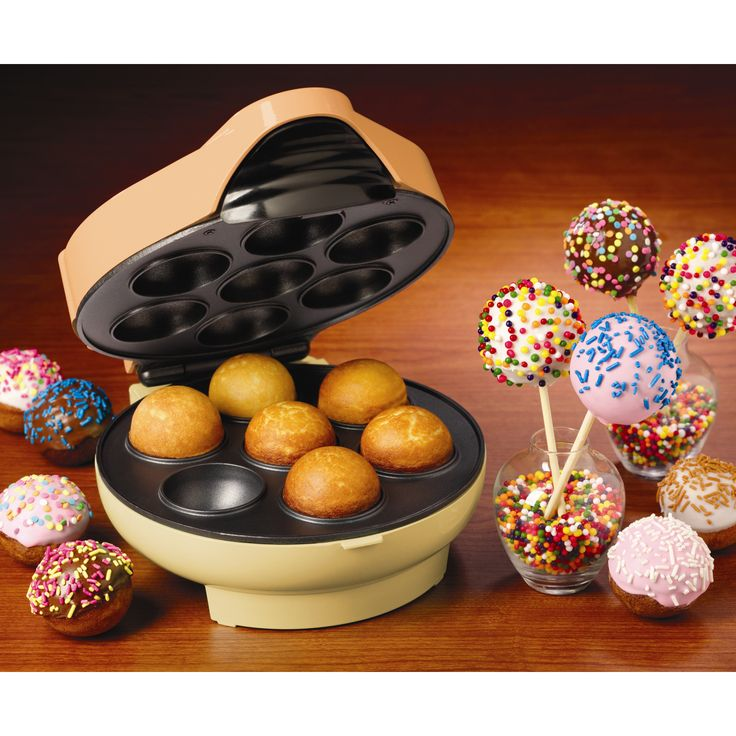 Cake Pop and Donut Hole Maker