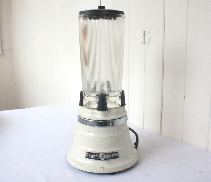 Vintage Waring Blender Beehive With Clover Glass Jar And