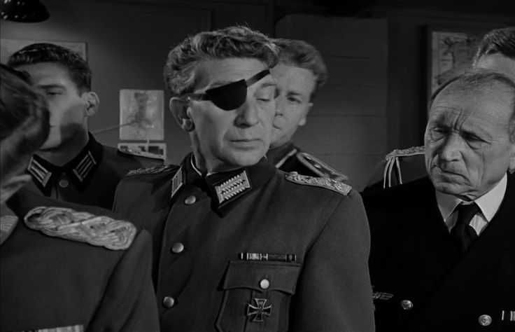 The Desert Fox: The Story of Rommel (1951)  Eduard Franz, as  Col. Klaus von Stauffenberg, Henry Hathaway