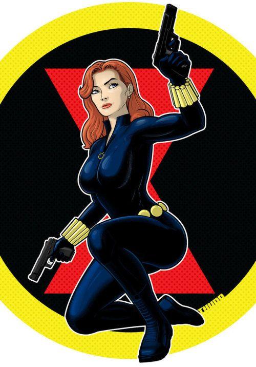 Black Widow Terry Huddleston Black Widow Marvel Black