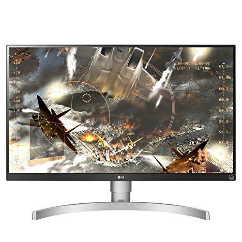 LG 27UK650-W 27″ 4K UHD IPS Monitor with HDR10 and AMD FreeSync Technology (2018)