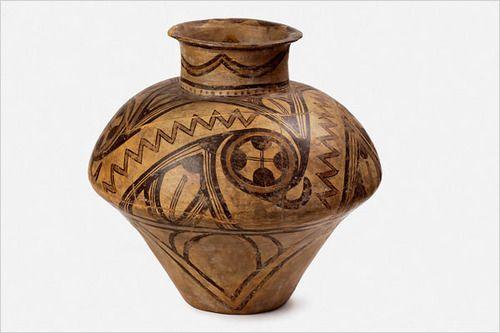 Fired clay vessel, Cucuteni, Şipeniţ, 3700-3500 BC. Romania