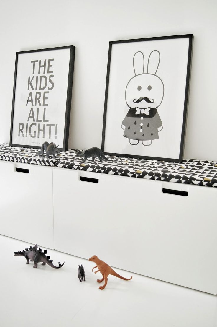 Terrific toy storage. Mitt Lille Hjerte: Barnerom. A #CanDoBaby! fave.