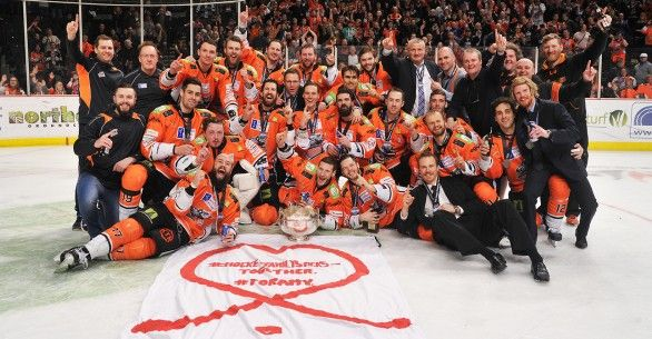 Steelers Are Champions: 2-1 Win Against the Devils. | Sheffield Steelers