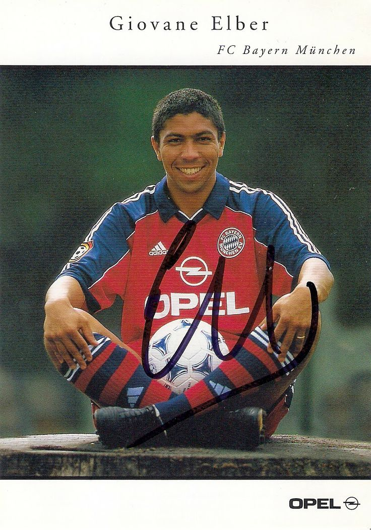 Autograph from Giovane Elber!