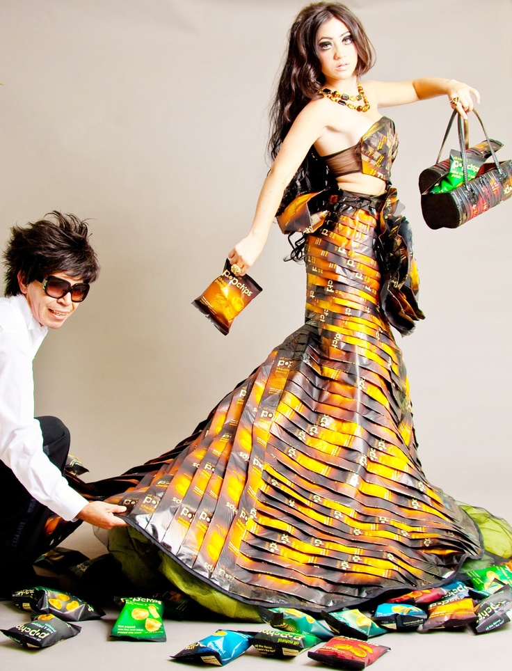 103 best images about recycled fashion show ideas on - Fashion show ideas ...