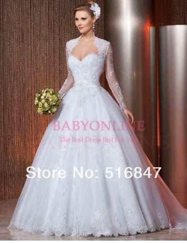 vestido de noiva tule com bolero