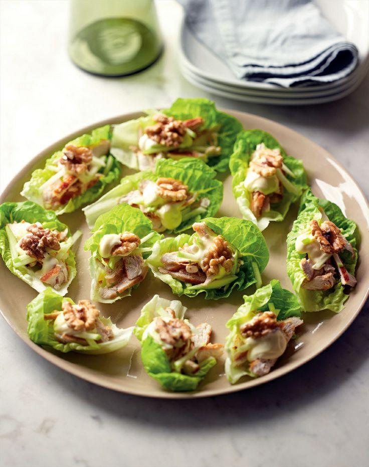 Chicken waldorf bites recipe by Jane Kennedy | Cooked