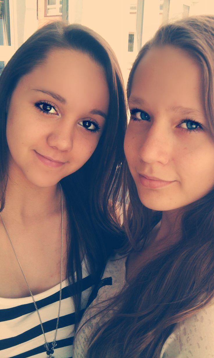 With my amazing friend ♥