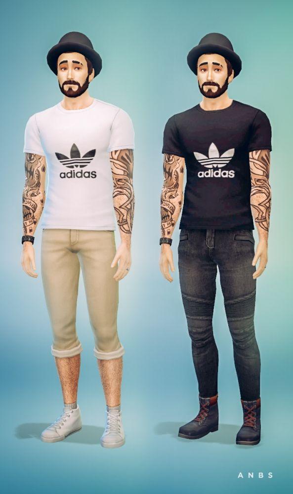 Sport t-shirt at Alachie & Brick Sims via Sims 4 Updates