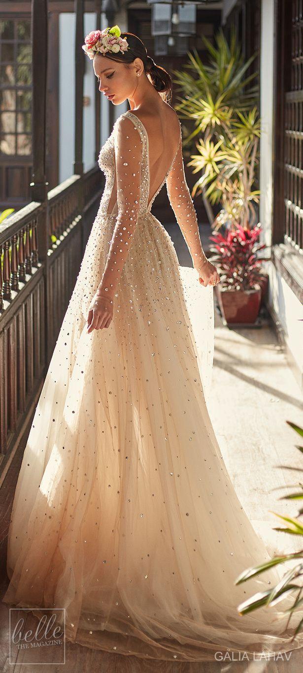 Wedding dress by Galia Lahav Couture Bridal - Fall 2018 - Florence by Night - Amaya