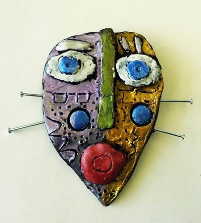 Grade 4 Cantrell clay faces