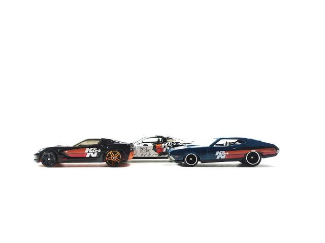 The Western Diecast Review: A Trio of K&N Licensed Hot Wheels...