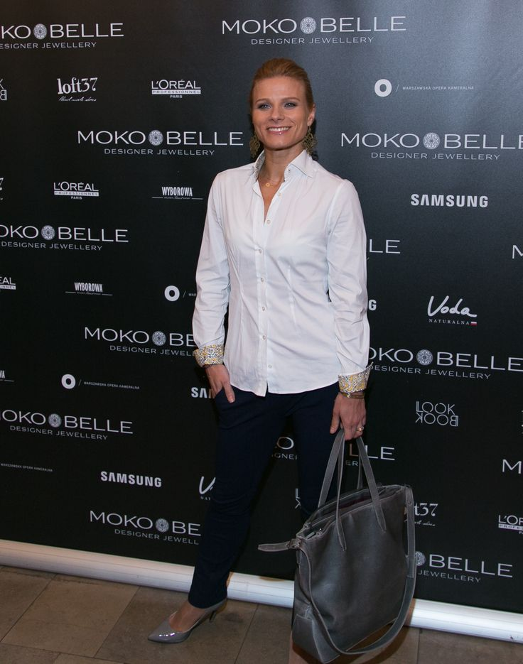 Anna Głogowska w biżuterii MOKOBELLE #mokobelle #mokobellejewellery #jewellery #jewelry #bransoletka #lifestyle #bijou #stars