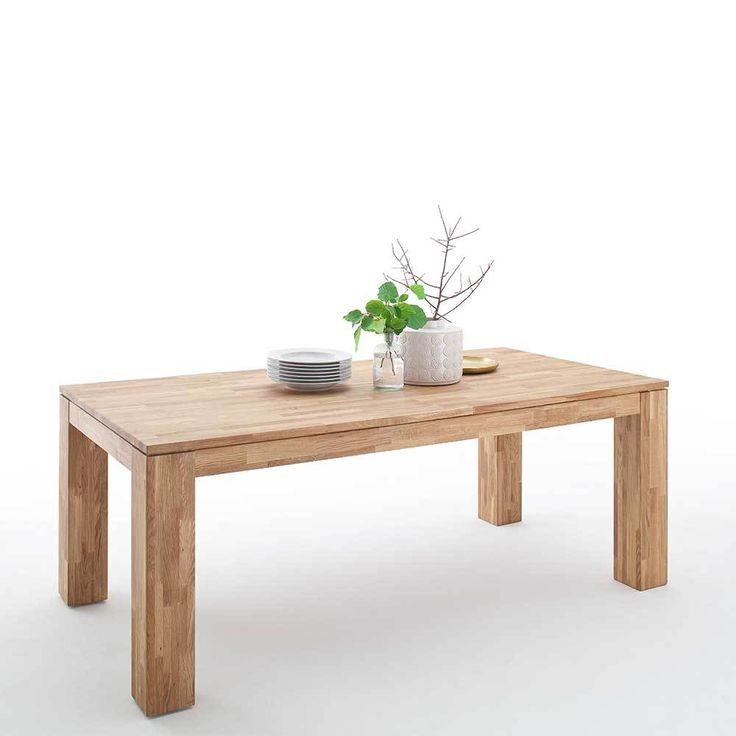 Holztisch Aus Wildeiche Massiv Gelt Ausziehbar Jetzt Bestellen Unter