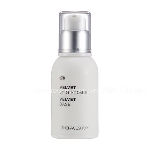 (Base) The Faceshop Face it primer velvet skin [The Faceshop] kem lót đa năng ~259k