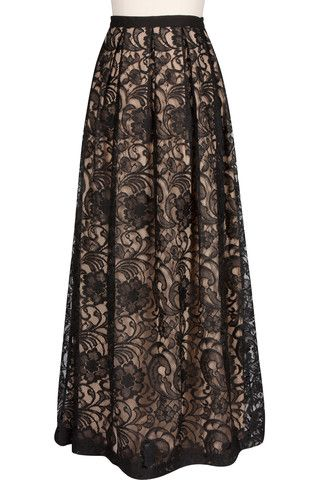 Majestic Lace Skirt...love, love, love this.
